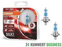 OSRAM NIGHT BREAKER® LASER H7 NEXT GENERATION HALOGEN SCHEINWERFERLAMPE für Audi