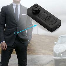 US Spy Mini Hidden DV DVR HD Button Camera Support 8GB - 32GB Microsd Card