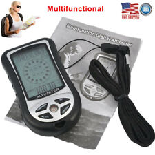 8 In 1 Multifunction Digital LCD Compass Barometer Altimeter Weather Forecast US