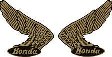 "#p245 4.5"" PAIR Honda Vintage Logo Decal Sticker Laminated Reproduction Racing"