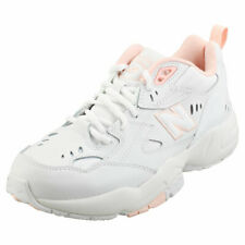 New Balance 608 Womens White Leather & Synthetic Fashion Trainers