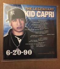 DJ Kid Capri 6-20-89 CLASSIC Old School Hip Hop Mixtape Mix CD 80s 90s