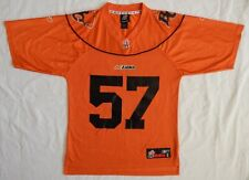 Reebok Football Jersey Cfl #57 B C British Columbia Lions Adult Size S Unworn
