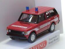 Wiking Range Rover FEUERWEHR, rot - 0105 03 - 1:87