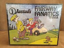 New Vintage 1989 Austad's Fairway Fanatics GOLF Trivia Board Game 2000 Questions