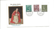 1966 Vatican unaddressed FDC Labor