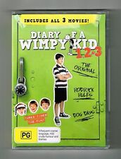 Diary Of A Wimpy Kid 1.2.3 Dvd (3-Movie Collection) 3-Disc Set New & Sealed