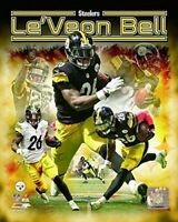 """Le'Veon Bell Pittsburgh Steelers NFL Composite Photo (Size: 8"""" x 10"""")"""