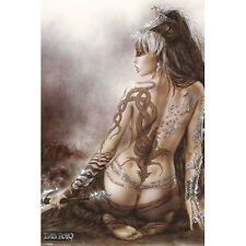 Luis Royo - Subversive Beauty POSTER 61x91cm NEW * Gothic Fantasy Woman Tattoo