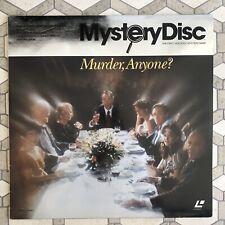Mystery Disc - Murder, Anyone?- Leah Thompson - LaserDisc