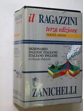 IL RAGAZZINI DIZIONARIO INGLESE ITALIANO ITALIANO INGLESE Giuseppe Ragazzini per