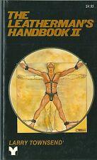 The leatherman's handbook II 1983 GAY HOMOSEXUALITE SM sadomasochisme Gai RARE