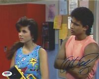 Mario Lopez Signed Saved By The Bell 8x10 Photo PSA/DNA Kelly Kapowski Bayside 1