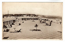 Pavilion & Beach Sandbanks Photo Postcard c1930 / Poole