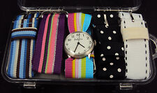 Dakota Watch ~  w/5 Changeable Fashion Bands, 2704-6, Water Resistant w/H2O Box