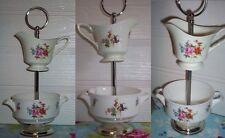 2 Niveles Pastel Soporte de exhibición de la baratija Royal Worcester Lechera Azucarera
