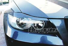 Scheinwerferblenden lackiert in Arktis Metallic A34 passend für BMW E90 und E91