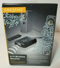 Creative X-Fi Wireless Receiver for Xdock & Xmod Wireless Model SB0840EF- BLACK