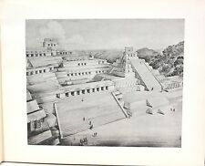 Album of Maya Architecture by T Proskouriakoff 1946 - 36 Sites Drawings & Photos