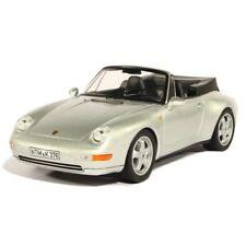 1:18 1994 Porsche 911 993 Cabriolet Silver NOREV 187592