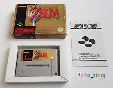 Super Nintendo SNES - The Legend Of Zelda : A Link To The Past - PAL - FRA
