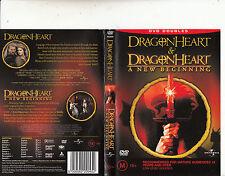 Dragon Heart-1996-Dennis Quaid/Dragon Heart:A New Beginning-[2 Disc]-2 Movie-DVD