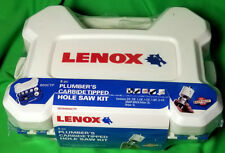 LENOX 8 PIECE PLUMBER'S CARBIDE TIPPED HOLE SAW KIT Product #30294600CTP 600CTP