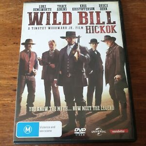 Wild Bill Hickok DVD R4 Like New! FREE POST