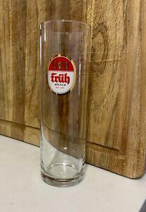 Includes 12 0.2 liter glasses. Fruh Kolsch Beer Glasses with Fruh Serving Tray