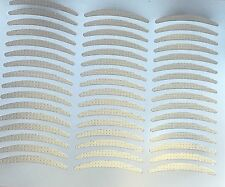 Lot 2400 Pairs HIGH QUALITY Double Eyelid  Adhesive Tape Clear-Narrow 100 sheets