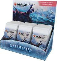 Magic The Gathering MTG Kaldheim Set Booster Box | 30 Packs (360 Magic Cards)