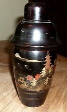 New listing Vtg 1920's Japanese Lacquer Ware Cocktail Shaker