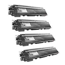 4PK Black Toner Cartridge for Brother TN-210 TN 210 MFC-9120CN MFC-9010CN TN210