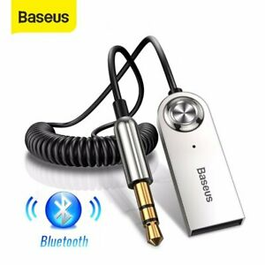 Baseus USB Bluetooth 3.5mm AUX Audio Adapter Kabel Auto PC Wireless Empfänger