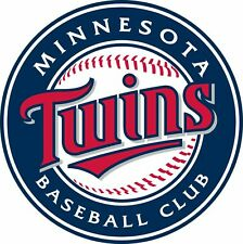 """Minnesota Twins MLB Color Die Cut Decal Sticker You Choose Size 3""""-12"""""""