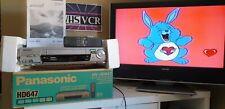 Magnétoscope VHS PANASONIC HD647 NICAM NTSC PAL SECAM SUPER QUALITE IMAGE