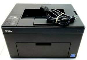 DELL 1250C COLOR-CAPABLE LED LASER USB BLACK COMPACT HARD-WORKING PRINTER