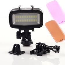 led videoleuchte f r gopro kamera g nstig kaufen ebay. Black Bedroom Furniture Sets. Home Design Ideas