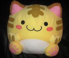 """Maruneko Club Orange-Yellow Cat 13-14"""" Plush-Japan Ufo Catcher"""