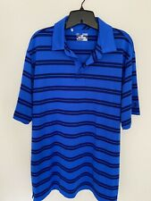 Mens Xl Under Armour short sleeve Loose heargear shirt/2 tone blue Perfect Cond.