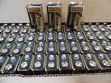 CASE 12 NEW Gold Peak  9V 9 VOLT Alkaline Batteries EXP in 7- 2019 6lf22 6lr61