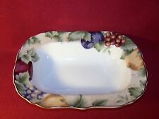 """Noble Excellence ~ Napa Valley ~ Oval Rimmed Vegetable Bowl 11"""""""