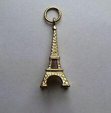 9ct Gold Eiffel Tower Pendant 1.1g