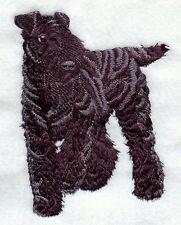 Embroidered Fleece Jacket - Kerry Blue Terrier I1207 Sizes S - Xxl