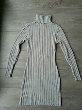 Robe pull  34/36 gris clair  3 SUISSES ,  Tbe !