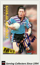 1996 Dynamic Rugby League Series 2 MVP Autographed Card --DAVE WATSON