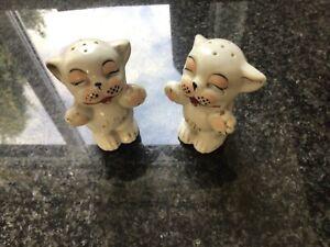 Bonzo Dog Ceramic Salt & Pepper Cruet Set
