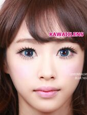 Contact Lenses GEO Color Soft Big Eye Cosplay UVProtection Lens Crystal Blue