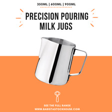 Coffee Milk Jug Frother Latte Art Stainless Steel Metal Pitcher Barista Tools AU
