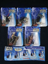 Tomy 1999 Star Wars Episode I Micro Machines Mini Set 5 Gashapon 10 Figure Set
